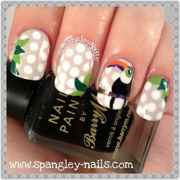 Kate Spade New York Inspired Nail Art nail art by Nicole Louise