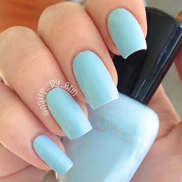 Zoya Blu Swatch by Erin