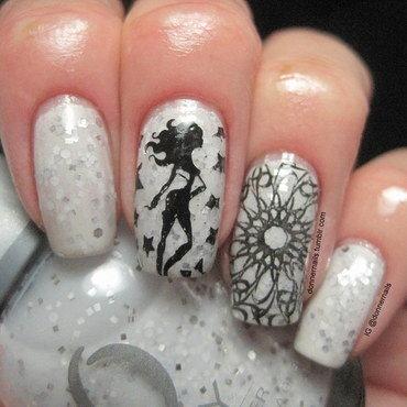 Girly Nails! nail art by Donner