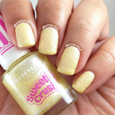 Rimmel London Sherbet Sweetheart Swatch by Amber Connor