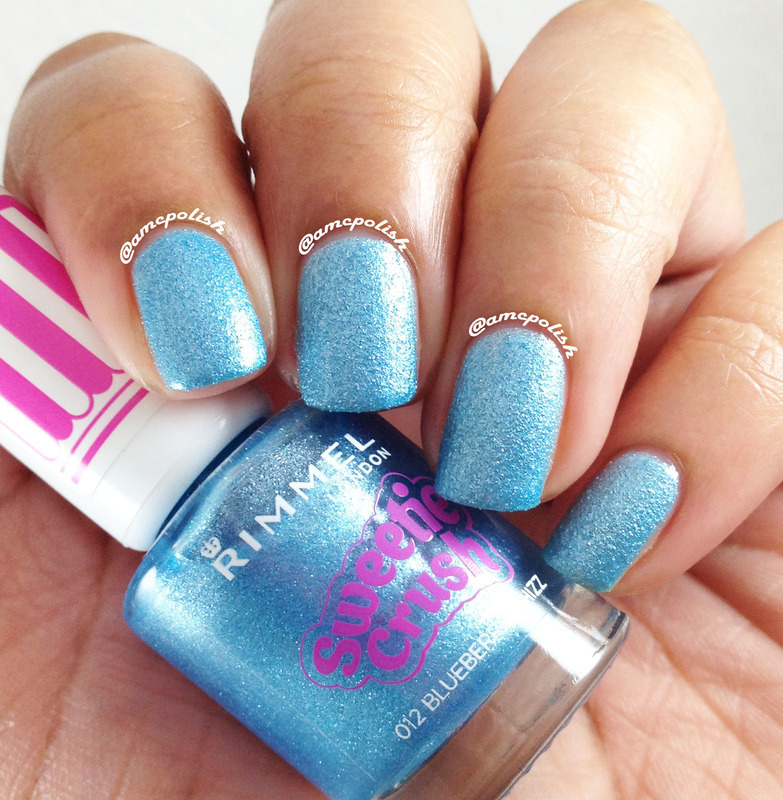 Rimmel London Blueberry Whizz Swatch by Amber Connor