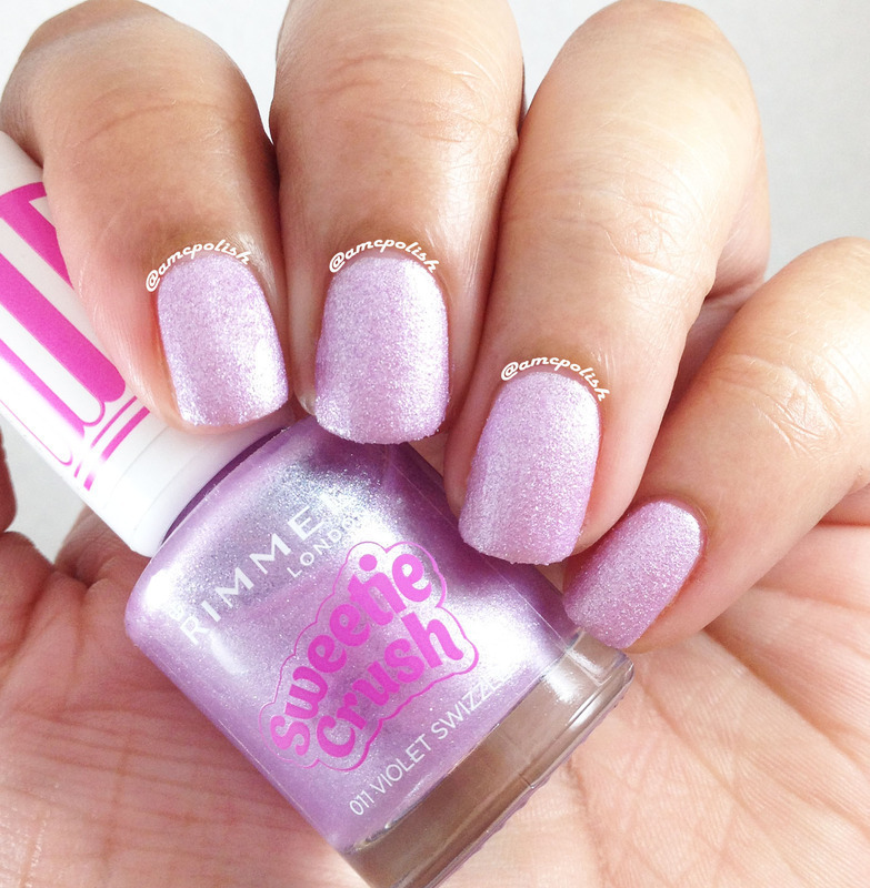 Rimmel London Violet Swizzle Swatch by Amber Connor