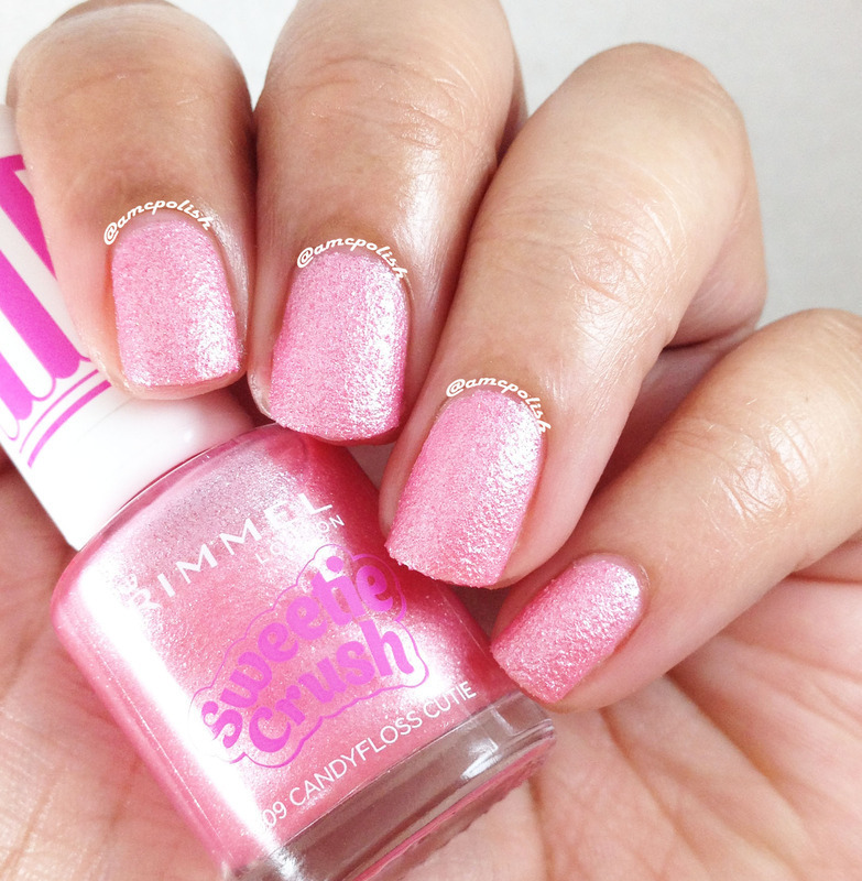 Rimmel London Candyfloss Cutie Swatch by Amber Connor