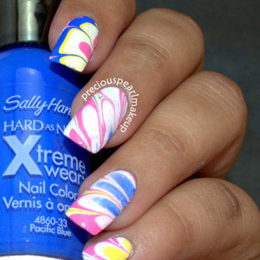 Candy Colors nail art by Pearl P.