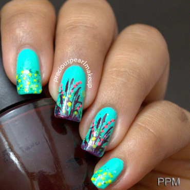 Green nail art 1 001 thumb370f