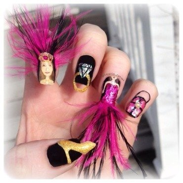 Fashion nail art by Amanda
