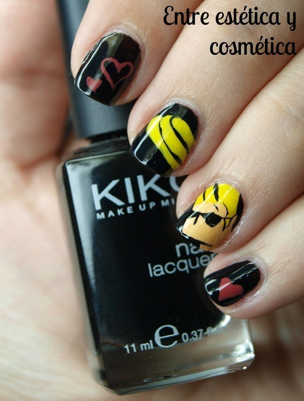 Johnyy Bravo Nails nail art by MartaRuso