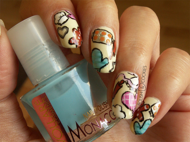 Let's bake some cookies! nail art by PolishCookie
