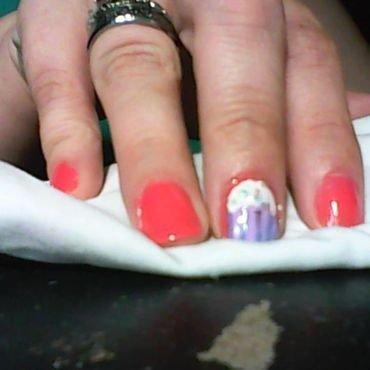 I'm gonna stick to baking cupcakes! nail art by Jess Hannan