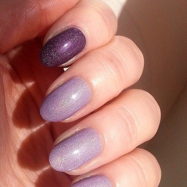 Colour Alike Bamberka and Colour Alike Lilianka Swatch by Redhead Nails
