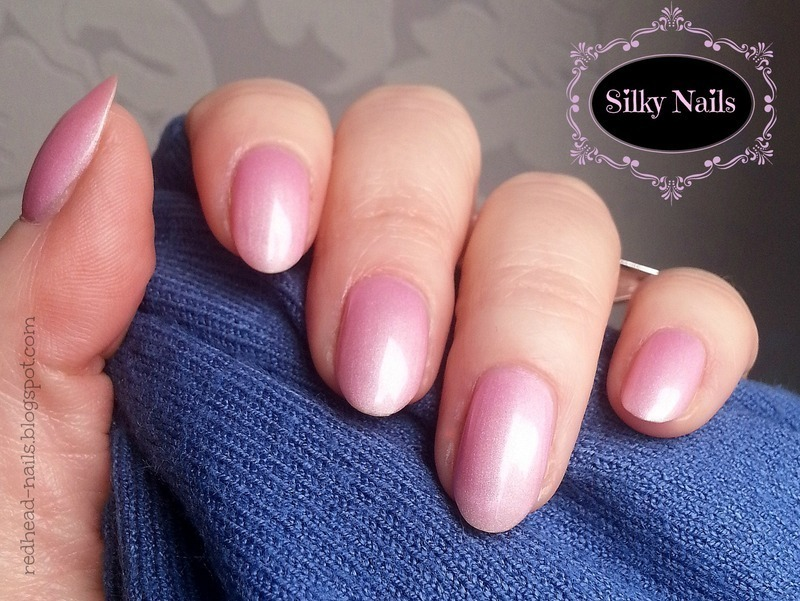 """Misslyn Silk Touch """"Ballet"""" Swatch by Redhead Nails"""
