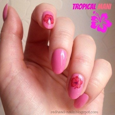 Barry M Dragon Fruit Swatch by Redhead Nails