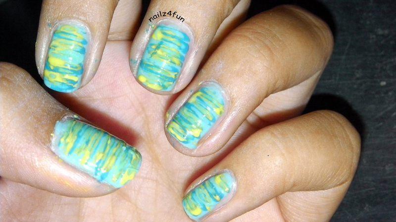 Flossy-y Nails nail art by Nailz4fun