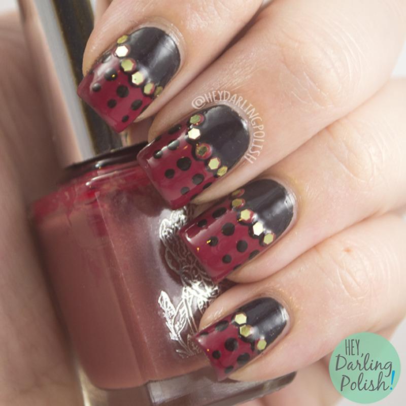 Gelquin Bugs nail art by Marisa  Cavanaugh
