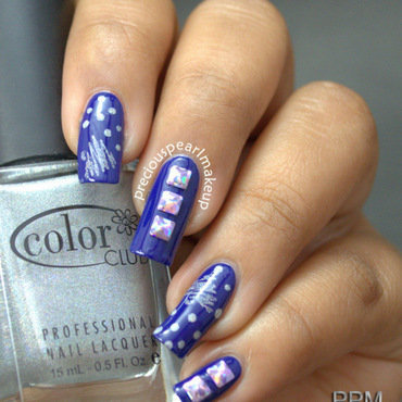 Blue nail art 1 001 thumb370f