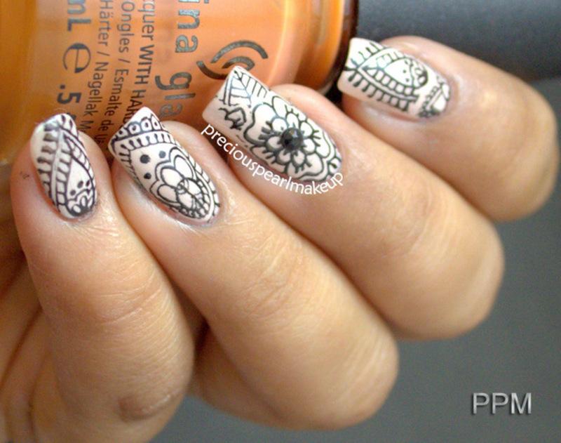 Keep it Simple nail art by Pearl P. , Nailpolis Museum of