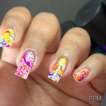 Splatter nail art 001 thumb370f