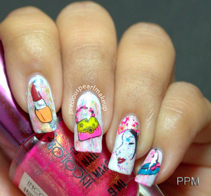 Women\'s Day Nails nail art by Pearl P. - Nailpolis: Museum of Nail Art