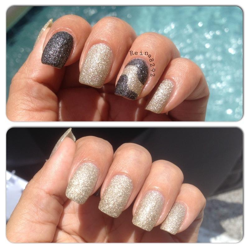 Pixie Dust Mani nail art by Reina