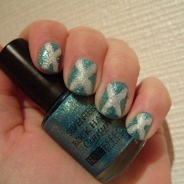 Burns' Night Manicure nail art by Lina-Elvira