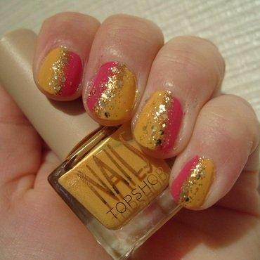 Hot n' Tropical nail art by Lina-Elvira
