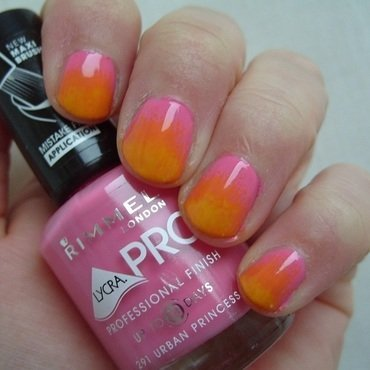 Pink orange ombre thumb370f
