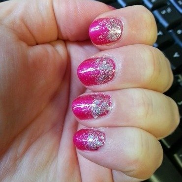 Pink Fantasy nail art by Lina-Elvira