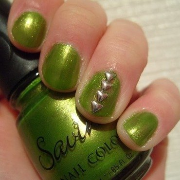 Money Tree 2.0 nail art by Lina-Elvira