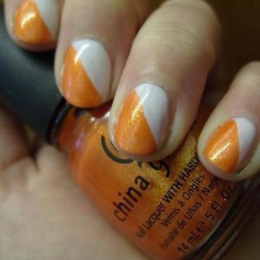 Orienteering nail art by Lina-Elvira