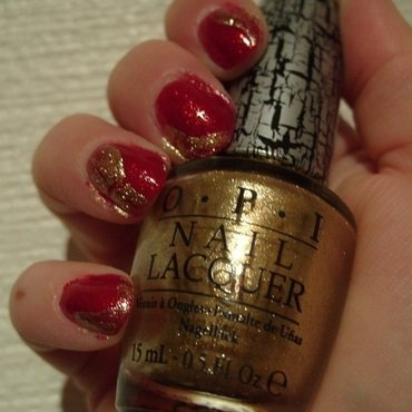 Xmas Treasure nail art by Lina-Elvira