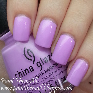 China Glaze Lotus Begin Swatch by Yael S