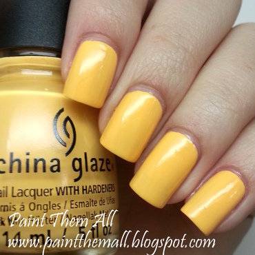 China Glaze Metro Pollen-tin Swatch by Yael S