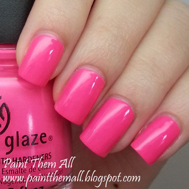 China Glaze Peonies & Park Ave Swatch by Yael S