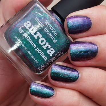 piCture pOlish Aurora Swatch by Kelsie