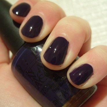 OPI Sapphire In The Snow Swatch by Lina-Elvira