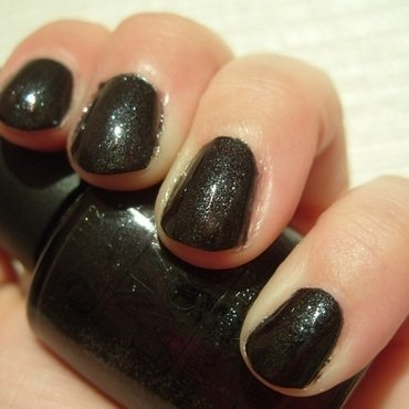 OPI Baby It's Coal Outside Swatch by Lina-Elvira