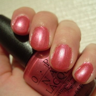 OPI Arose At Dawn, Broke By Noon Swatch by Lina-Elvira