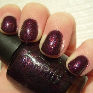 OPI Merry Midnight Swatch by Lina-Elvira