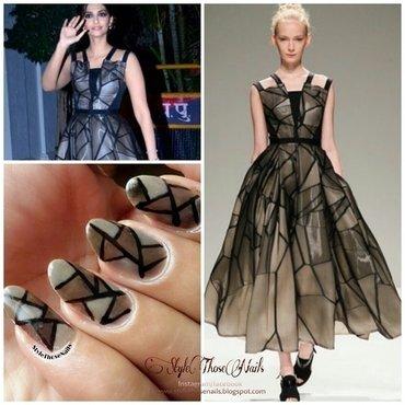 Spring 2014- Runway inspired nails nail art by Anita Style Those Nails