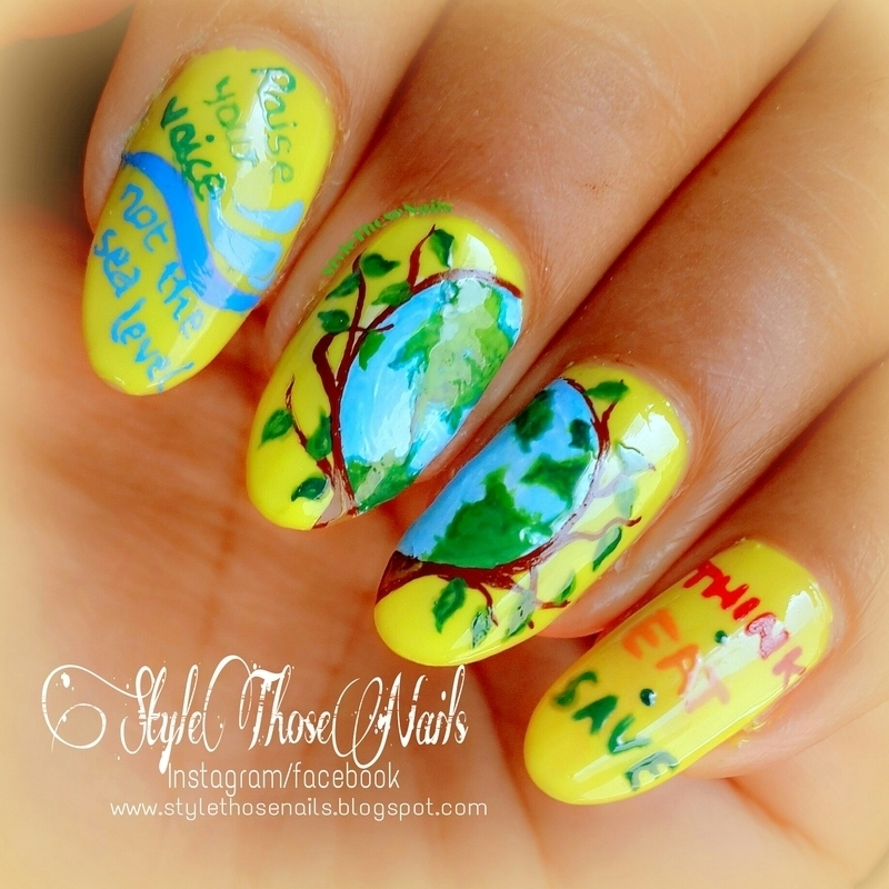 World Environment Day 2014 Nails Nail Art By Anita Style Those Nails