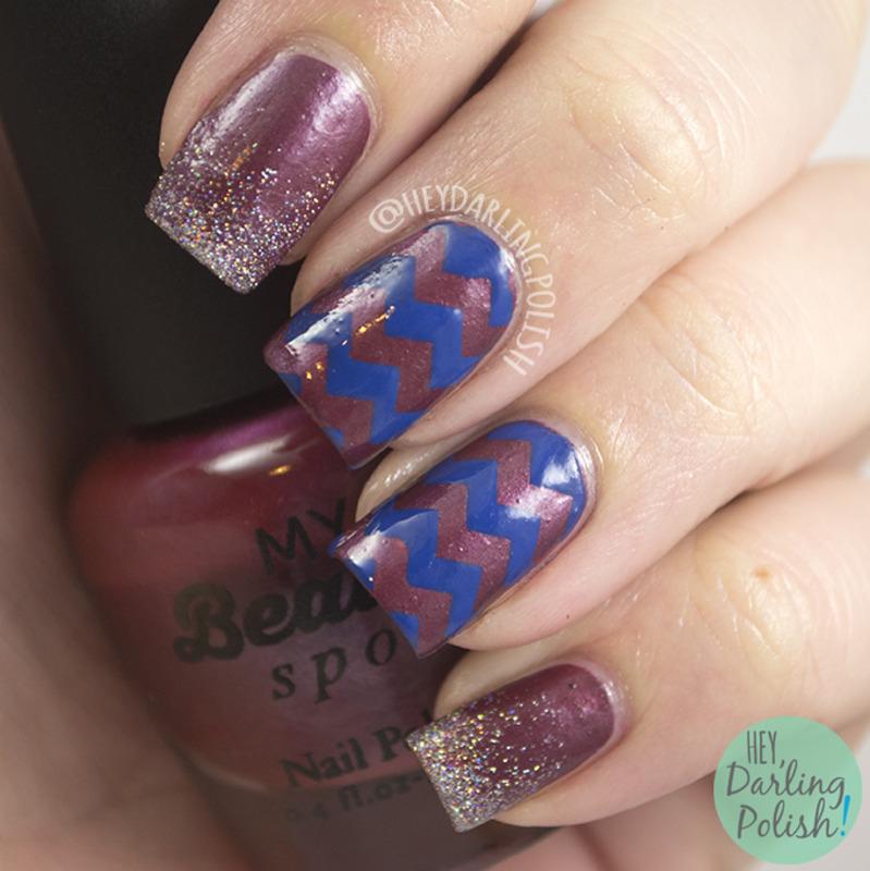 Pretty Up nail art by Marisa  Cavanaugh