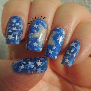 Stars nail art by NailsIT