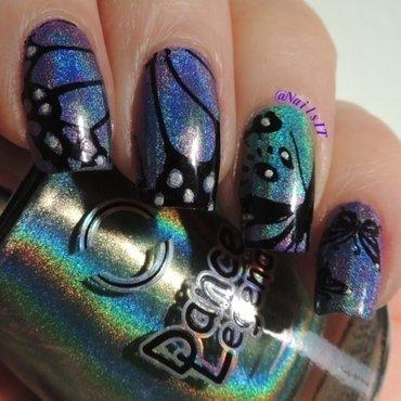 Butterflies nail art by NailsIT