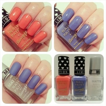 Barry M Bikini and Barry M Carousel Swatch by Rebecca