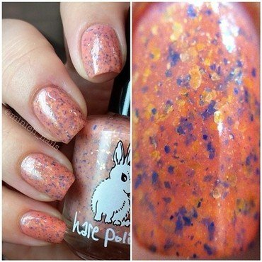 Hare Polish Down On The West Coast Swatch by Minieh