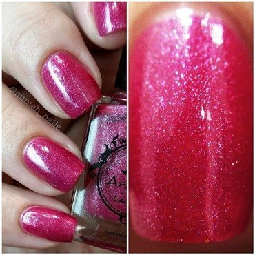 Arcane Lacquer Echo Swatch by Minieh