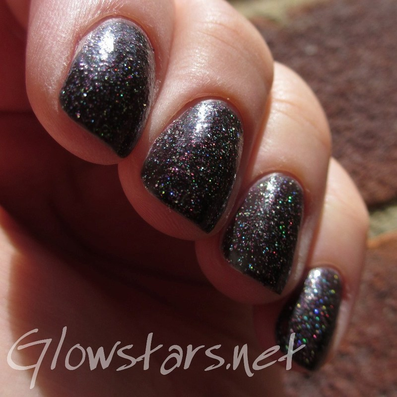 Girly Bits Into The Night Swatch by Vic 'Glowstars' Pires