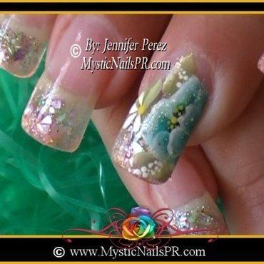 Spring! by Jennifer Perez nail art by Jennifer Perez ♥ Mystic Nails