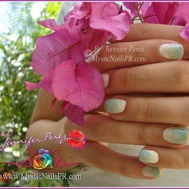 Ombre! ♥ by Jennifer Perez nail art by Jennifer Perez ♥ Mystic Nails