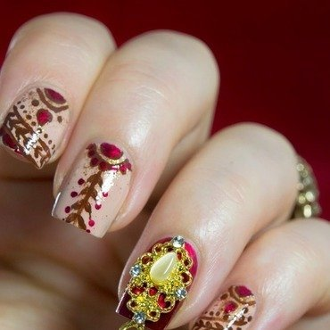 Indian bridal nails 5 thumb370f